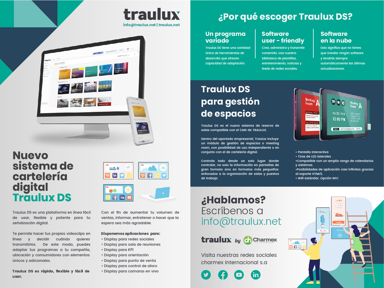Traulux DS: Software as a Service